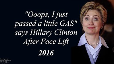 Ooops I just passed a Little Gas says Hillary Clinton After Face Lift (Volatility Research) 1000h64