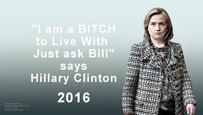 I am a BITCH to Live With says Hillary Clinton Before Face Lift (Volatility Research) 1000h68