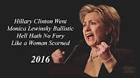 Hillary Clinton Went Monica Lewinsky Ballistic Hell Hath No Fury Like a Woman Scorned (Volatility Research) 1000h