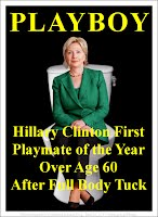 Hillary Clinton First Playmate of the Year Over Age 60 After Full Body Tuck(Volatility Research) 1000h84