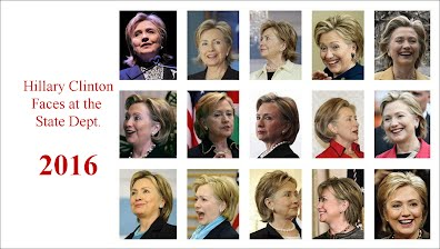 Hillary Clinton Faces at the State Department (Volatility Research) 1000h87