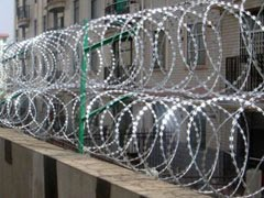 Concertina Cross Razor Wire Types Samples