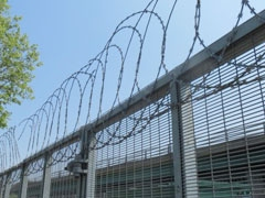 Flat Wrap Razor Wire coils installation and prices