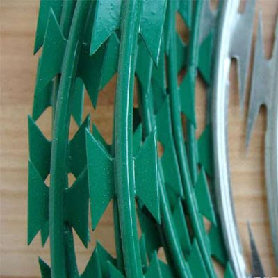 pvc razor barbed wire Sale Online, Razor Ribbon, Security fence, Alambre Concertina, El Alambre Navaja - WM WIRE INDUSTRIAL