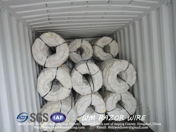 WM RAZOR BARBED WIRE FACTORY JINZE ANPING