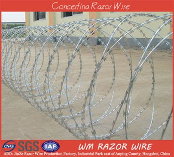 Concertina Cross Razor Wire