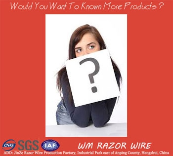 Would You Want To Known More Products About Razor Barbed Wire