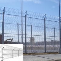 a powerful security barrier razor barbed wire fence upgrade