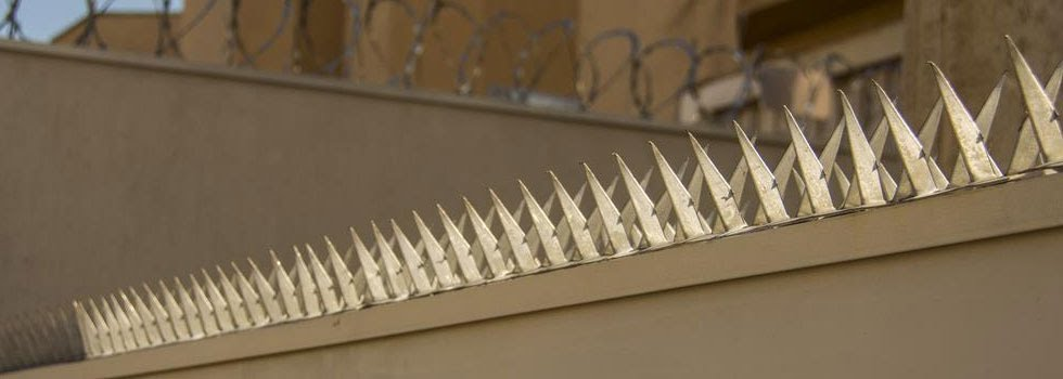 Spike topping, Wall spike, Security fencing