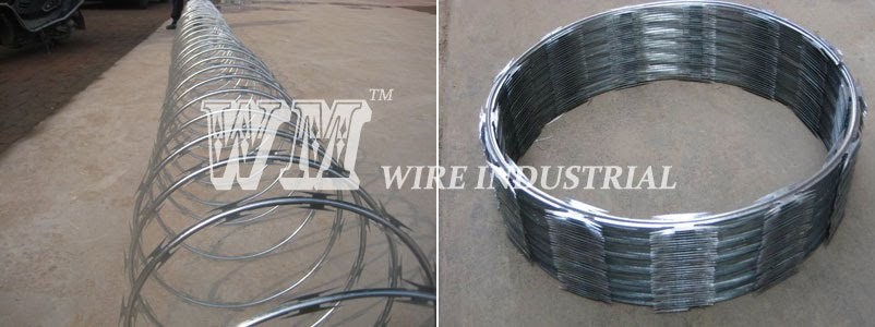 PRODUCT DETAIL FOR CONCERTINA SINGLE RAZOR WIRE