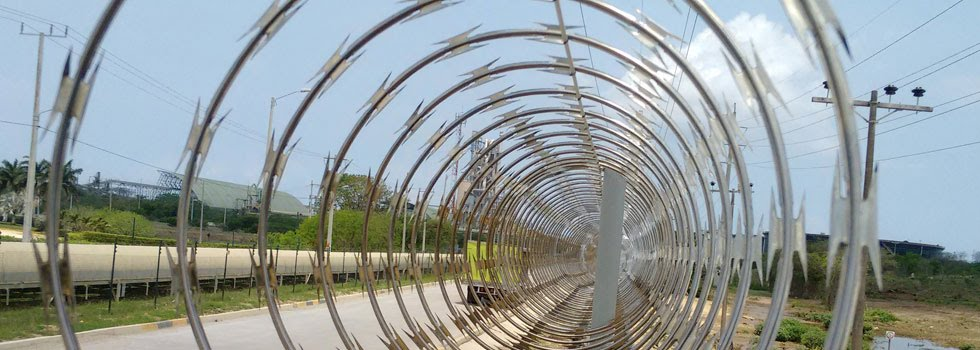 stainless steel razor concertina wire